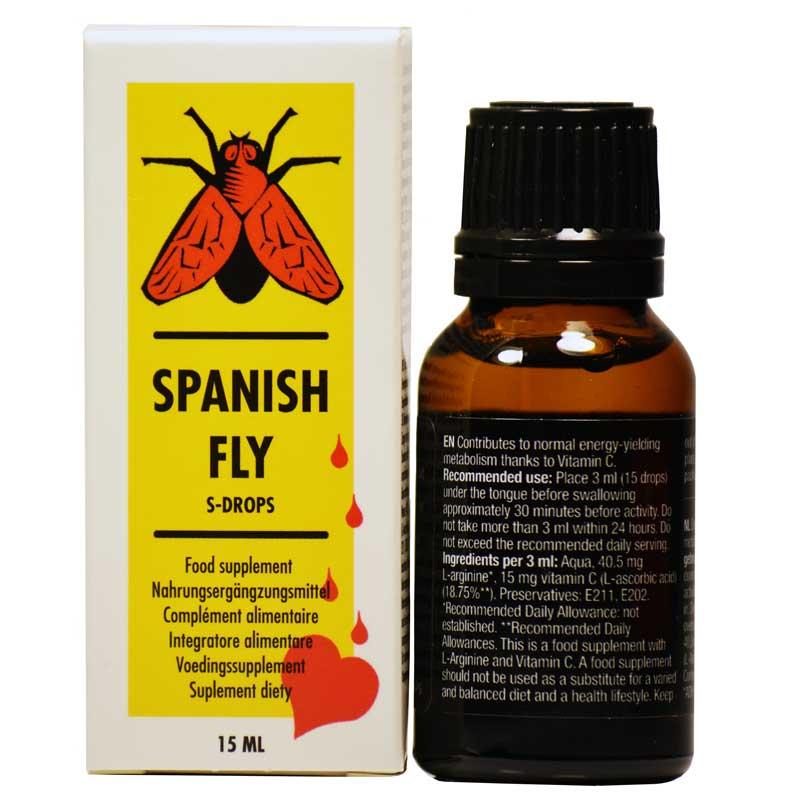 Spanish Fly - Picaturi Afrodiziace, 15 ml • Just Love