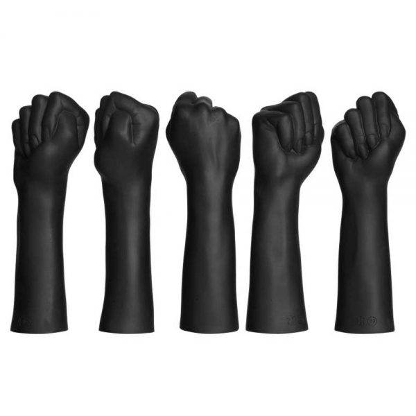 dildo-negru-Fist-Fucker-Closed-Fist