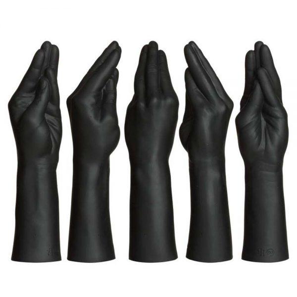 dildo-negru-Fist-Fucker-Stretching-Hand