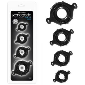 inel-penis--erectie-renegade-vitality-rings-black