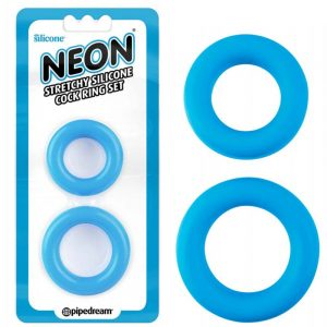 inele-penis-Neon-Stretchy-Silicone-Cock-Ring-Set