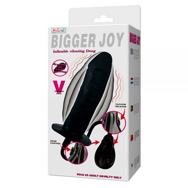 vibrator gonflabil Bigger Joy ambalaj