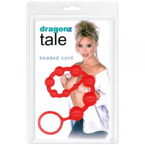 Dragonz Tale Beaded Cord bile rosii ambalaj