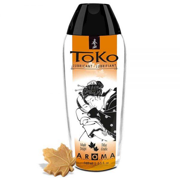 Toko Aroma Maple Delight lubrifiant pe baza de apa cu aroma de sirop de artar