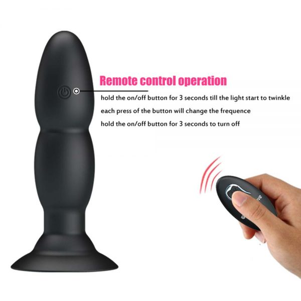 butt plug Beaded Pretty Love wireless