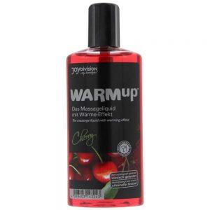 ulei cu efect de incalzire warmup cu aroma de cirese
