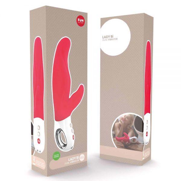 vibrator rabbit de lux Lady Bi ambalaj