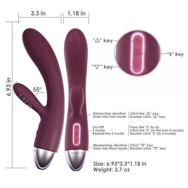 vibrator Alice Mov dimensiuni