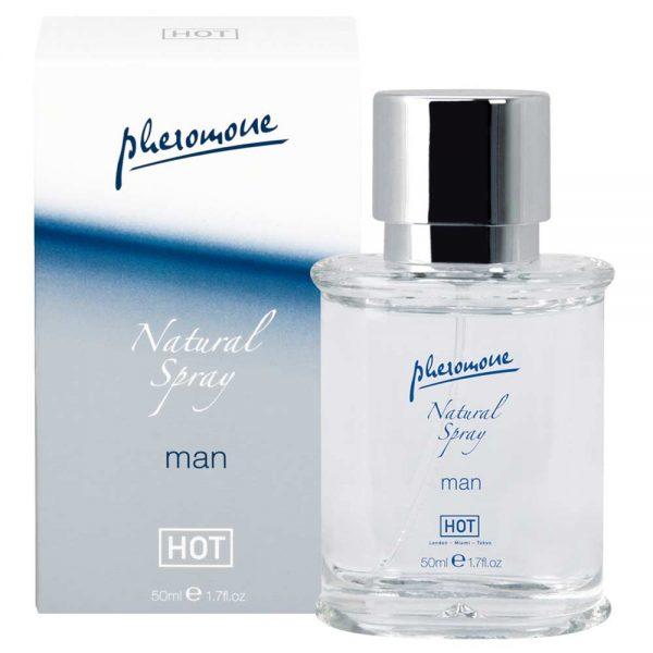 Hot Man Natural Spray parfum cu feromoni pentru barbati