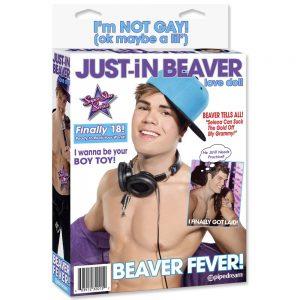 Just-In Beaver papusa gonflabila ambalaj