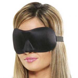masca pentru ochi din neopren Deluxe Fantasy Love Mask
