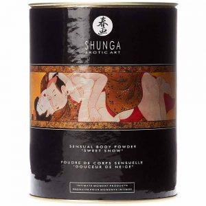 Shunga Body Powder aroma zmeura