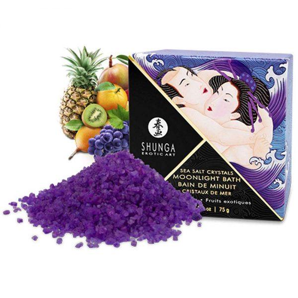 Shunga Moonlight Bath sare de baie fructe exotice