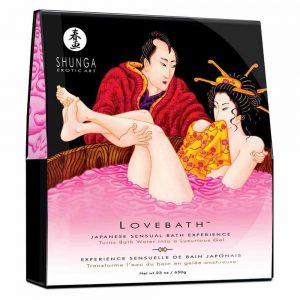 sare de baie Shunga Love Bath aroma fructul dragonului