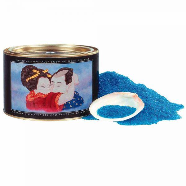 sare de baie shunga albastra