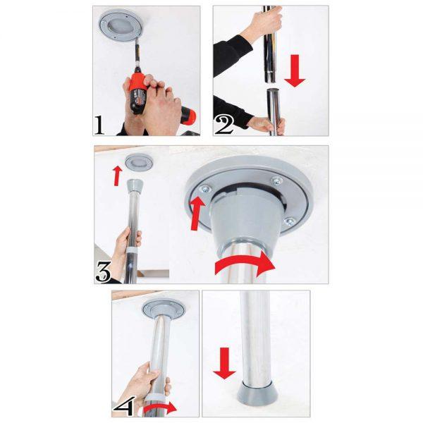 instructiuni de instalare fantasy dance pole