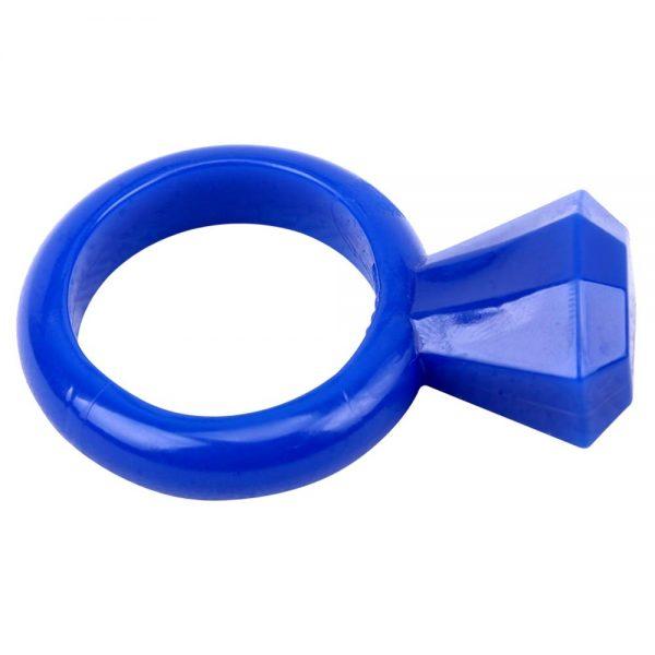 inel albastru Get Lock Diamong Cock Ring