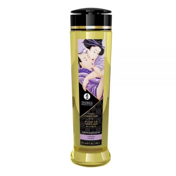 Erotic Shunga Sensation Lavender