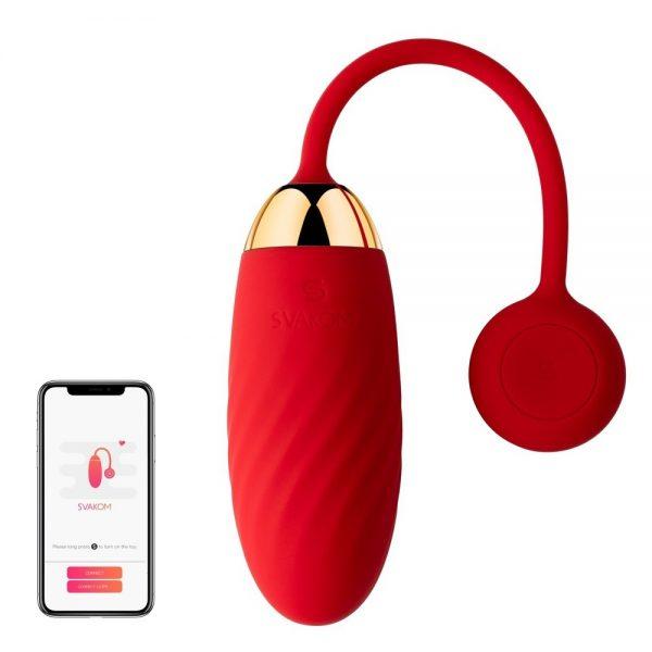 ou vibrator cu aplicatie ella
