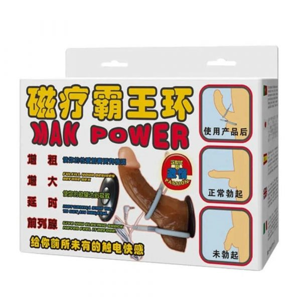 man power electrostimulator ambalaj