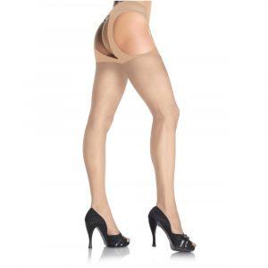 Sheer Suspender Pantyhouse nude